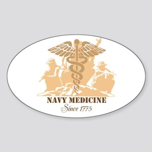 Navy Medicine Since 1775 Sticker (oval)