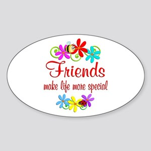 Special Friend Sticker (Oval)