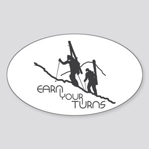 Ear Your Turns Sticker (Oval)