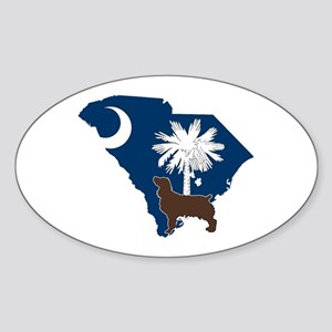 South Carolina Boykin Spaniel Sticker (Oval)