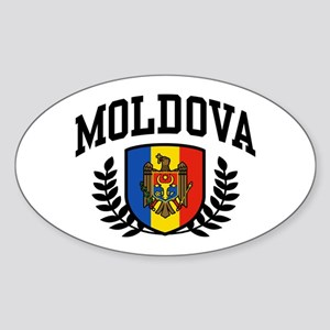 Moldova Sticker (Oval)
