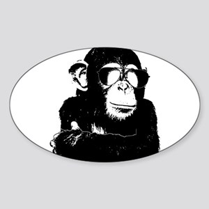 The Shady Monkey Sticker