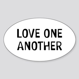 Love One Sticker (Oval)