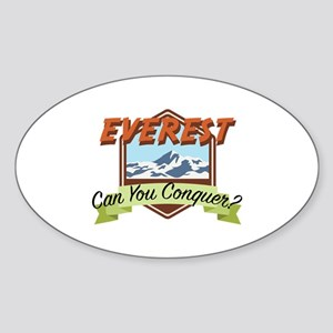 Conquer Everest Sticker
