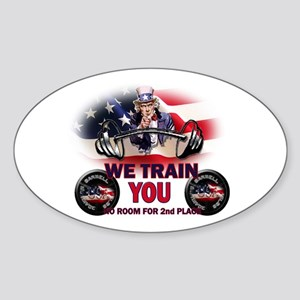USA Trainer Sticker (Oval)