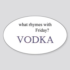VODKA Sticker