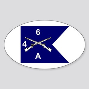 A Co. 4/6 Oval Sticker