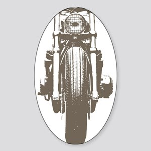 cb750 cafe racer Sticker (Oval)