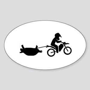 Team Turtle Recovery Unit Sticker (Oval)
