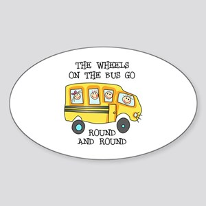 THE WHEELS ON THE BUS Sticker