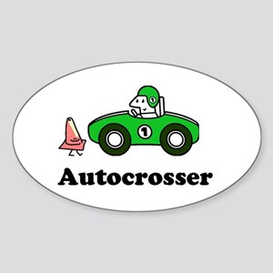 autocrosser sticker (Oval) for ax racing