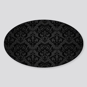 Elegant Black Sticker