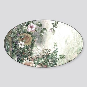 Flowers Painting Sticker