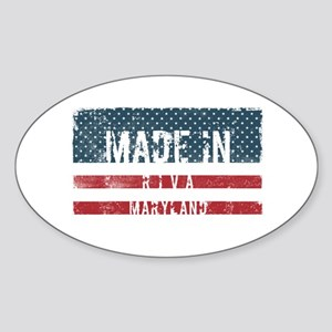 Made in Riva, Maryland Sticker