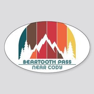 Beartooth Pass - near Cody - Wyoming Sticker