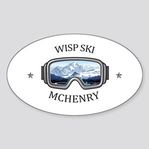 Wisp Ski Resort - McHenry - Maryland Sticker