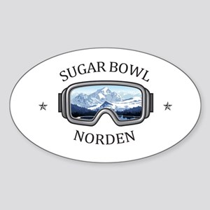 Sugar Bowl - Norden - California Sticker
