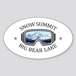 Snow Summit - Big Bear Lake - California Sticker