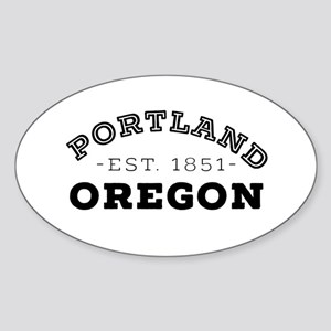 Portland Oregon Sticker