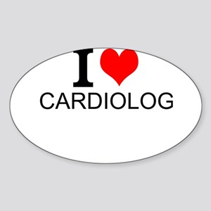 I Love Cardiology Sticker