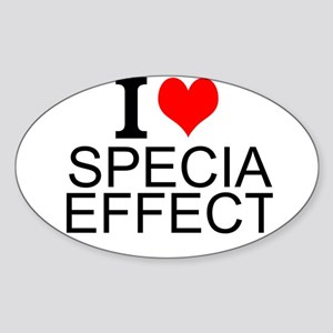 I Love Special Effects Sticker