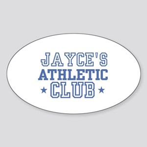 Jayce Oval Sticker