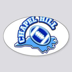 Chapel Hill Football Oval Sticker