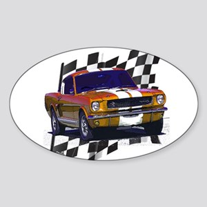 1966 Mustang Oval Sticker
