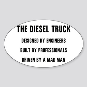 The Diesel Truck Sticker (Oval)