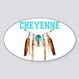 Proud to be Cheyenne Sticker (Oval)