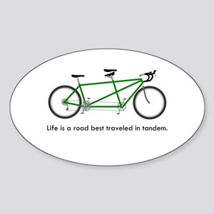 Life is a road Sticker