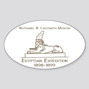 1898-1899 Egyptian Expedition Sticker