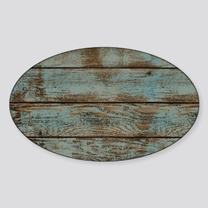 rustic western turquoise ba Sticker