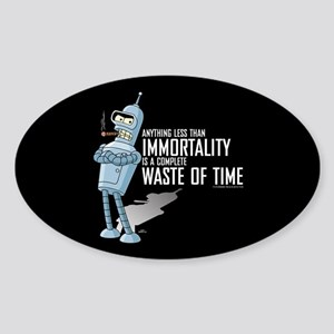 Bender Immortality Sticker (Oval)