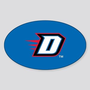 DePaul University D Sticker (Oval)