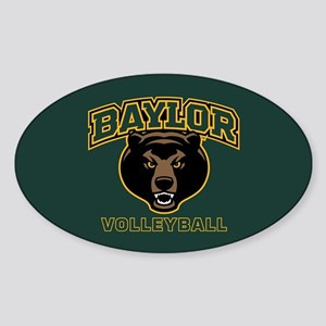 Baylor Bears Volleyball Sticker (Oval)