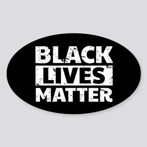 Black Lives Matter Sticker (Oval)