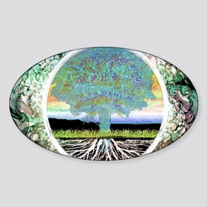 Tree of Life Metallic Sticker