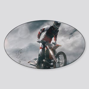 Motocross Rider Sticker