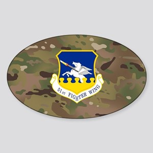 51st Fighter Wing Sticker (Oval)