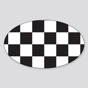Checkered Sticker