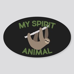 My Spirit Animal Sticker (Oval)