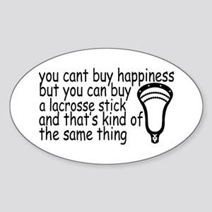 Lacrosse Happiness Sticker