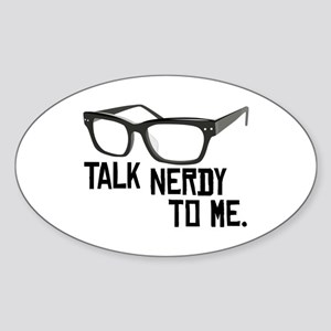 Talk Nerdy To Me. Sticker
