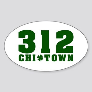 315 CHITOWN Chicago Oval Sticker
