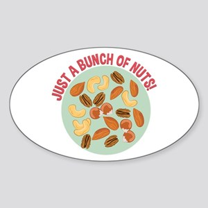 Bunch Of Nuts Sticker