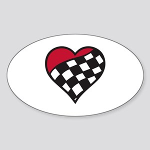 Racing Heart Sticker