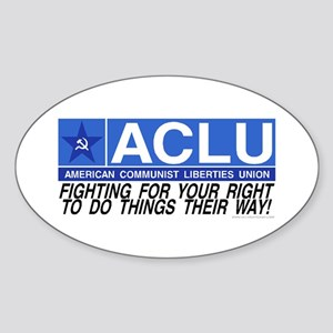 ACLU Oval Sticker