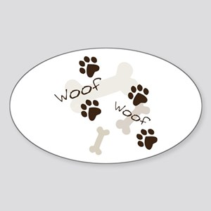 Woof Woof Sticker