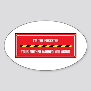 I'm the Forester Oval Sticker